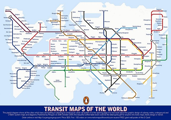 Unusual London Map, Alternative London tube map, unusual metro map, transit map