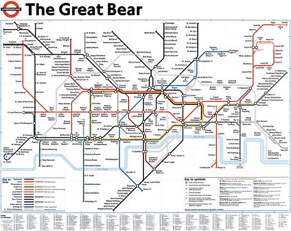 London Undergound Art Five Unusual London Tube Maps Ravi Jay - London tube map 2014
